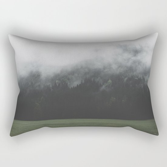Spectral Forest - Landscape Photography Rectangular Pillow