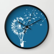 Going where the wind blows Wall Clock