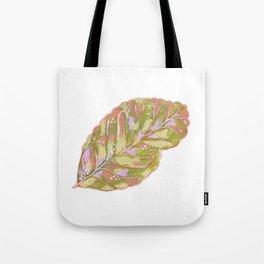 Lemon Tree Leaf Tote Bag
