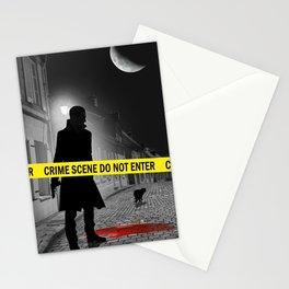 Crime scene do not enter Stationery Cards