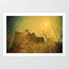 A Very Sunny Day Art Print