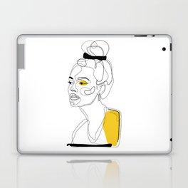 Yellow Sketch Laptop & iPad Skin