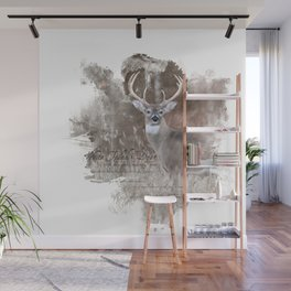 White Tailed Deer Wall Mural