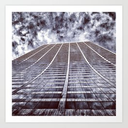 Grace Building Art Print