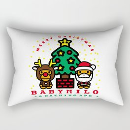 baby milo christmas Rectangular Pillow