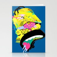 homer Stationery Cards featuring Homer 1. by Huxley Chin