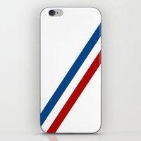 f1 iPhone & iPod Skins featuring James Hunt Hesketh F1 by Krakenspirit