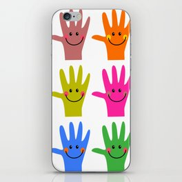 Happy Hands iPhone Skin