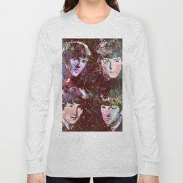 Paul, John, Ringo, George Long Sleeve T-shirt