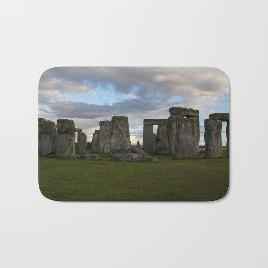 Stonehenge Landscape Bath Mat