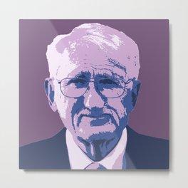 Jürgen Habermas Metal Print