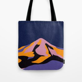 Over The Sunset Mountains II Tote Bag