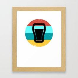 Craft Beer Craft Beer Drinker Ipa Beer Microbrewing Framed Art Print