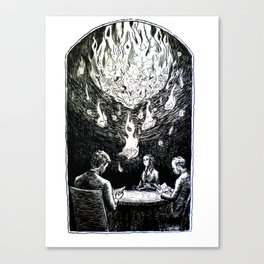 Requiem for a Story Canvas Print