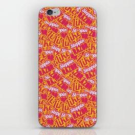 """""""LIKE A STEPPIN' RAZOR"""" iPhone Skin"""