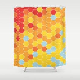 Bee Sunny Shower Curtain