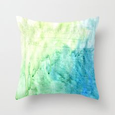 A color love story - part 1 Throw Pillow
