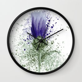 The Thistle  Wall Clock