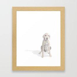 His name is BJ the OG Framed Art Print