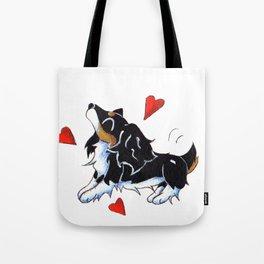 Wiggle Hearts Tote Bag