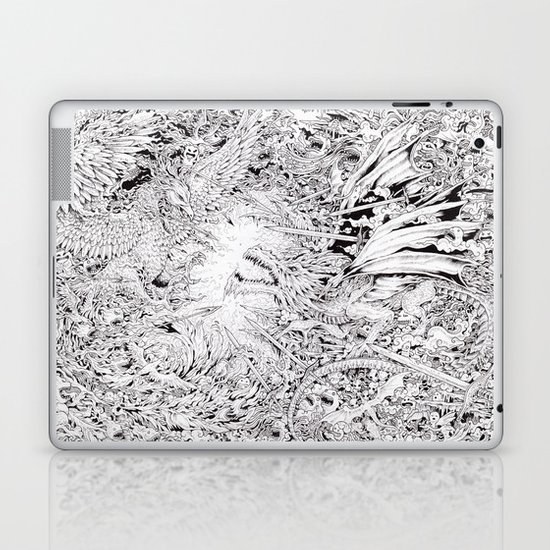 Fire & Ice Laptop & iPad Skin