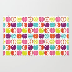 Textured Apples Rug