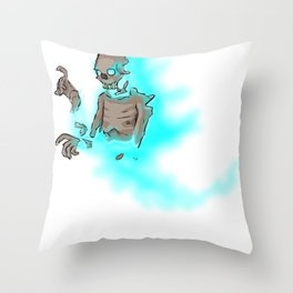 Soul Decaying Ghoul Throw Pillow