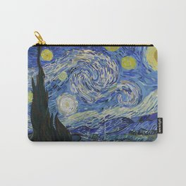 Starred Night Carry-All Pouch