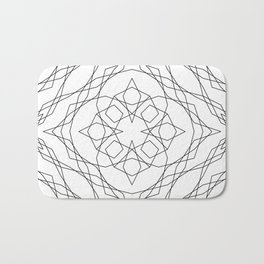 Geometric #13b Bath Mat