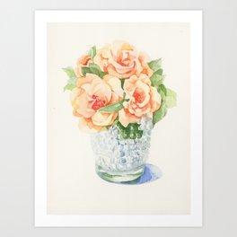Oldroses Art Print