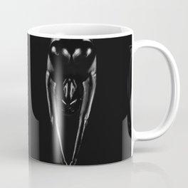 Art portrait of black naked girls   Bodypainting Coffee Mug