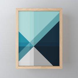 Geometric 1704 Framed Mini Art Print