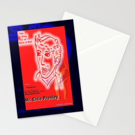 THE KING OF ROCK & ROLL Stationery Cards