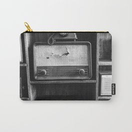 Retro Stand (Black and White) Carry-All Pouch