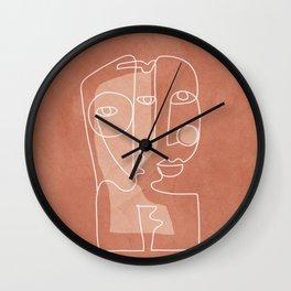 Faces 01 Wall Clock