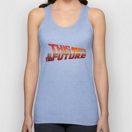 THIS IS THE FUTURE Unisex Tank Top