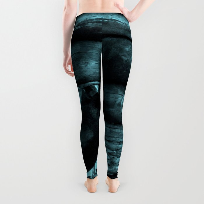 Blue Crow Shadows Leggings