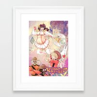 yaoi Framed Art Prints featuring Magical Charles! by kami dog