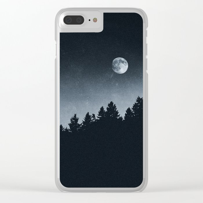Under Moonlight Clear iPhone Case