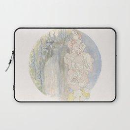 Bluebells and Hollyhocks girdle the earth Laptop Sleeve