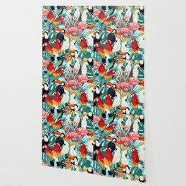 Exotic birds Wallpaper