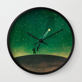 Stars Archer Wall Clock