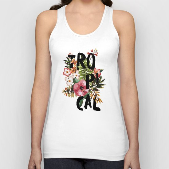 Tropical I Unisex Tank Top