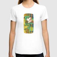 nouveau T-shirts featuring Nouveau Girl by Steve W Schwartz Art