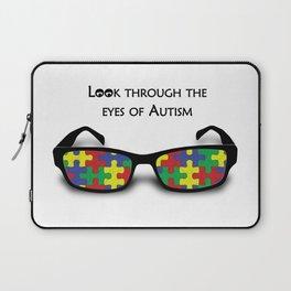 Look through the eyes of Autism Laptop Sleeve