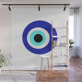 Blue Eye Wall Mural