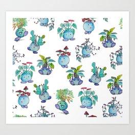 All Plant Bois Art Print