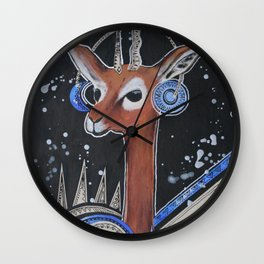 Space Bokkie Wall Clock