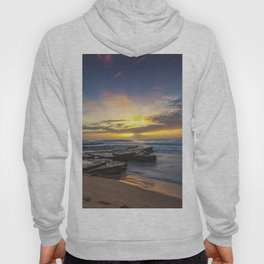 Sunrise by the beach Hoody