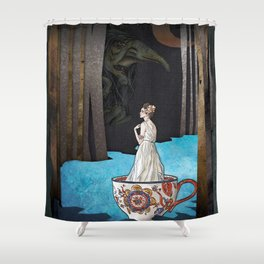 Vodník the Water Goblin Shower Curtain